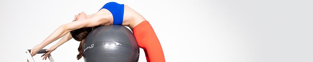 Marina buntovskikh pilates ball